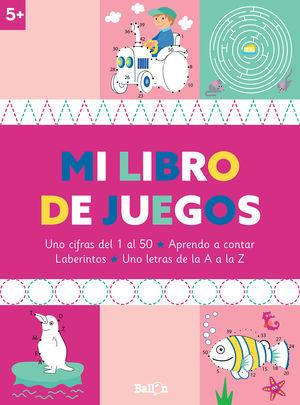 MI LIBRO DE JUEGOS +5