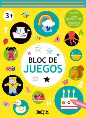 BLOC DE JUEGOS +3 AMARILLO