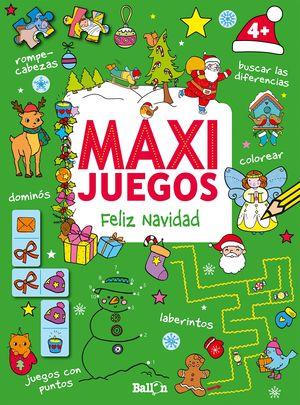 MAXI JUEGOS - FELIZ NAVIDAD +4