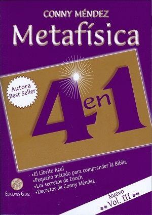 METAFISICA 4 EN 1. VOL. 3º