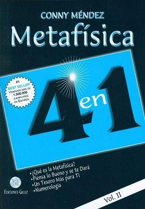 METAFISICA 4 EN 1. VOL II N/E